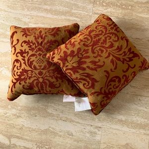 Down throw pillows NWT